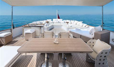 motor yacht sirahmy aft upper deck yacht charter - Yacht Upper Deck