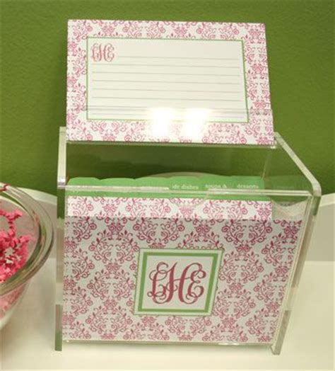 blank recipe card box 35 best images about monogram blanks on pinterest