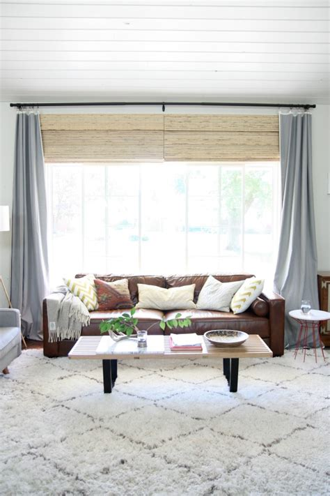 Window Covering Ideas For Large Picture Windows Decorating House Tweaking