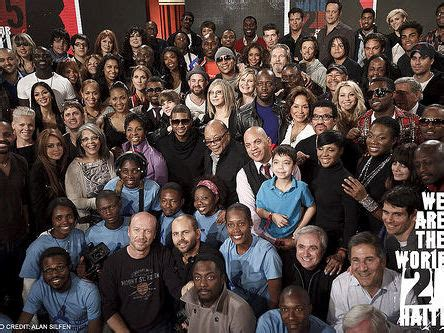 quincy jones we are the world we are the world for haiti videos y listas de cantantes