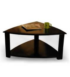triangular coffee table by mudramark contemporary