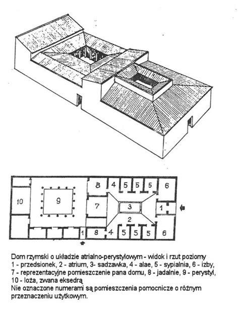 Traditional House Plans rzym
