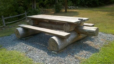 log benches how to build log bench for the cabin pinterest