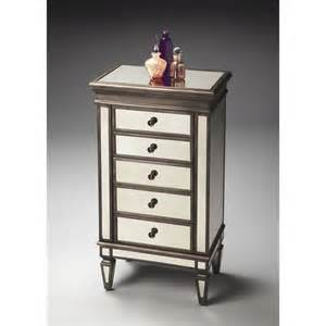 Armoire Jewelry Chest butler specialty masterpc chest mirror jewelry armoire ebay