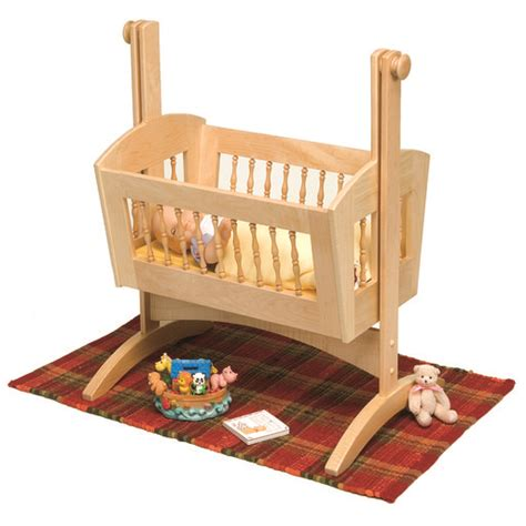 doll cradle woodworking plans woodworking project paper plan to build pendulum doll cradle