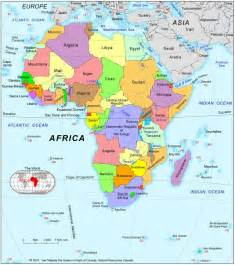 Countries Of Africa Map by Africa Map Region Country Map Of World Region City