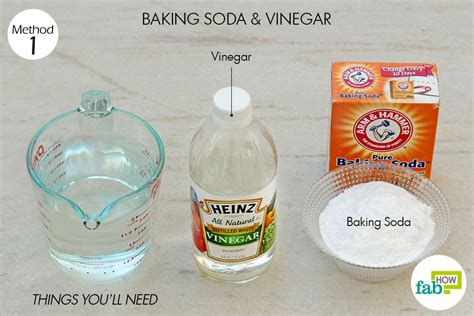 clean sink with baking soda and vinegar baking soda salt vinegar drain cleaner diydry co