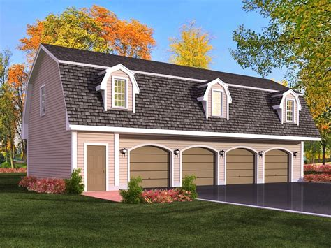 Four Car Garage Plans by Marvelous Garage With Apartment Above 6 4 Car Garage With