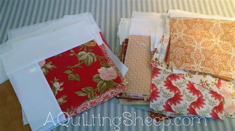 Falling Charms Quilt by A Quilting Sheep Falling Charms