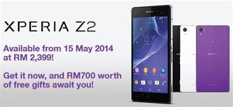 Hp Sony Xperia Z2 Malaysia sony xperia z2 malaysia price technave
