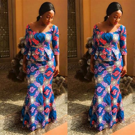 latest 2016 ankara skirts and blouses latest ankara skirt and blouse styles 2017 check them out