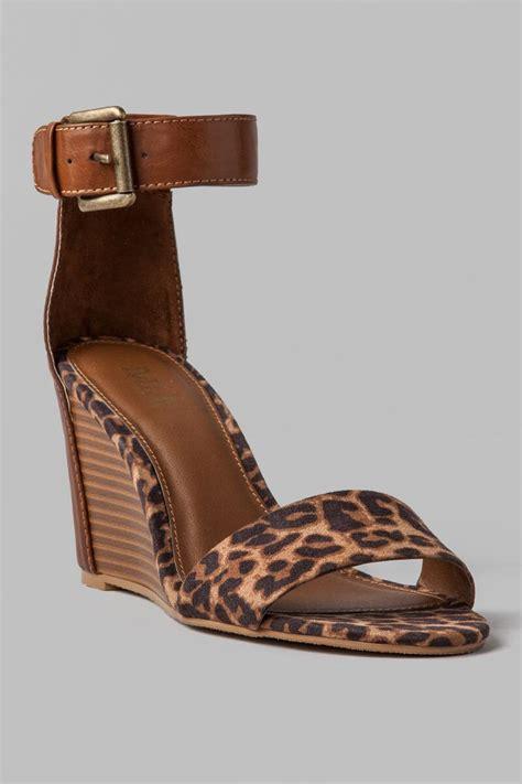 Wedges Vintage Cl shoes fiona leopard wedge s