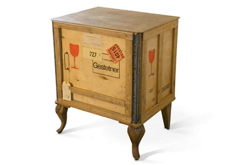 Furniture Crates by Shipping Crate Transformed Into Unique Furniture