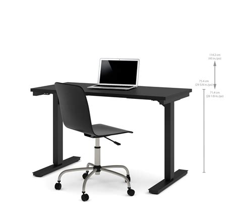 height adjustable office desk electric 48 quot sit stand electric height adjustable office desk in