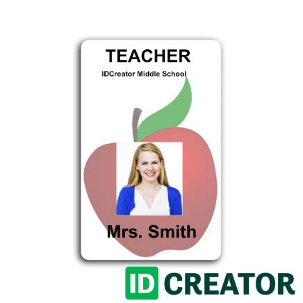 printable teacher id cards school id cards no minimum quantities orders order id