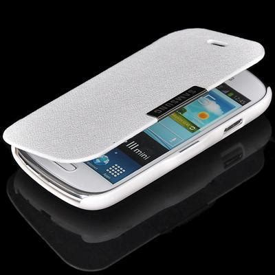 Promo Original Samsung Flip Cover Galaxy S3 Mini I8190 Bagus white magnetic flip pu leather cover stand for samsung galaxy s3 mini i8190 in phone bags