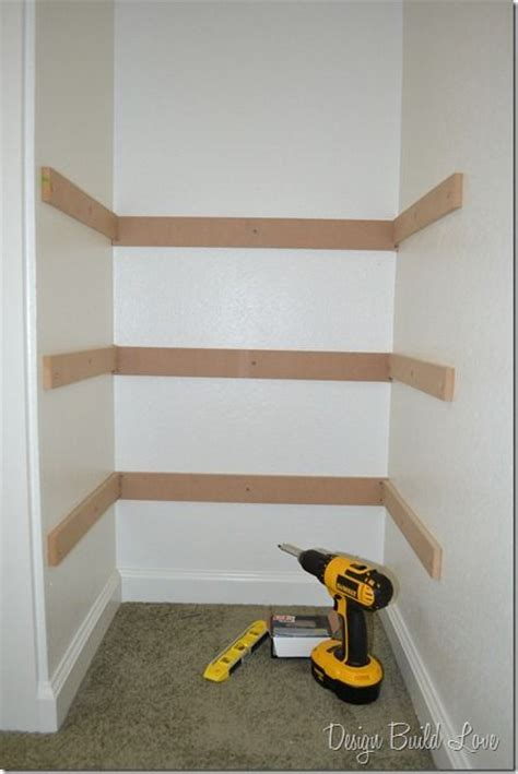 Closet Building Materials by 7 Simple Steps To Create Cheap Easy Built In Closet