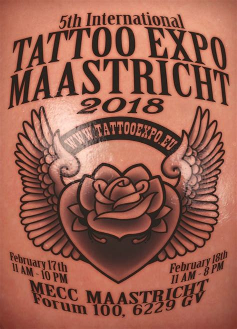 tattoo convention february 2018 maastricht tattoo expo february 2018