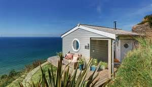 Cottages In Wales By The Sea With Pets by Whitsand Bay The Edge Cabin With Sea Views In Cornwall
