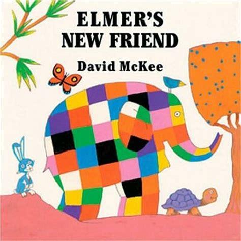 Patchwork Elephant Book - elmer the elephant elementary