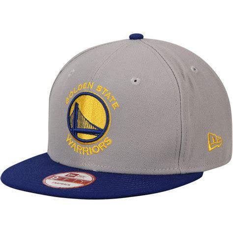 Cap Warriors mens golden state warriors new era gray team 9fifty snapback adjustable hat nba store