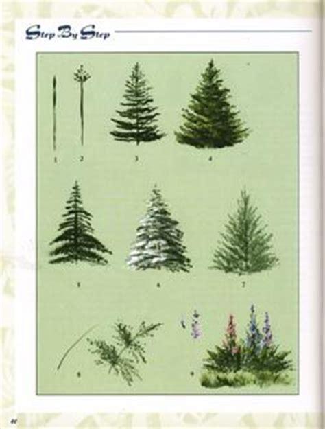acrylic painting evergreen trees apanhado sobre bauer magadesign 193 lbumes web de picasa
