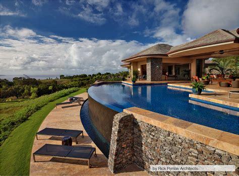 Infinity Pool Backyard Infinity Pool Homespree