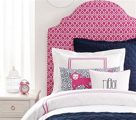 pottery barn kids headboard charlotte upholstered bed headboard pottery barn kids