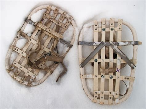 diy snow shoes snowshoes made of wood home garden do it