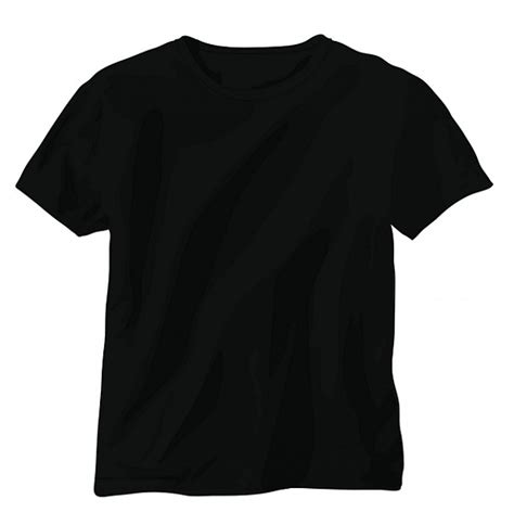T Shirt Black black vector t shirt vector free
