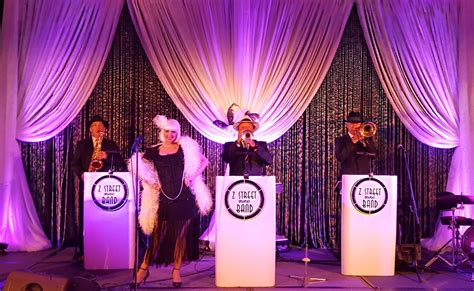 universal themes in the great gatsby the z street speakeasy band gatsby theme entertainment