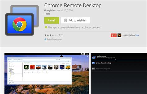 chrome remote desktop android chrome remote desktop ya disponible en play para todo el mundo el androide libre