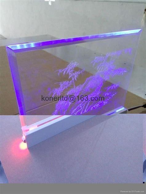 led acrylic edge lighting custom rgb led lighted laser engraving acrylic edge lit