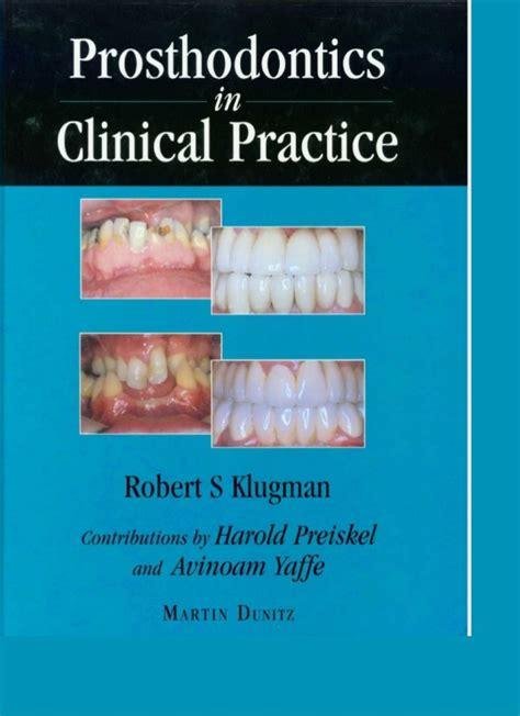 Cd E Book The Journal Of Prosthetic Dentistry prosthodontics clinical practice