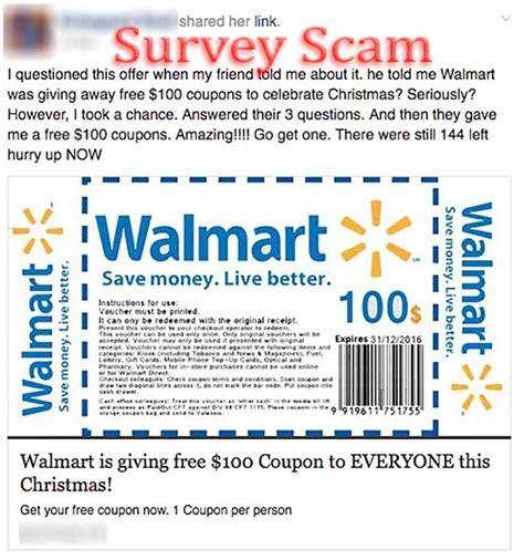 promo code walmartcom christmas tree walmart quot free 100 coupon quot scam hoax slayer