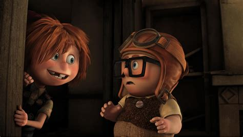 Up Chairs Pixar The Best Moments In Film History Carl And Ellie S Love