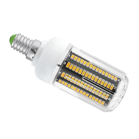 e27 e14 5 20w lamp 5736smd led corn lights clear cover