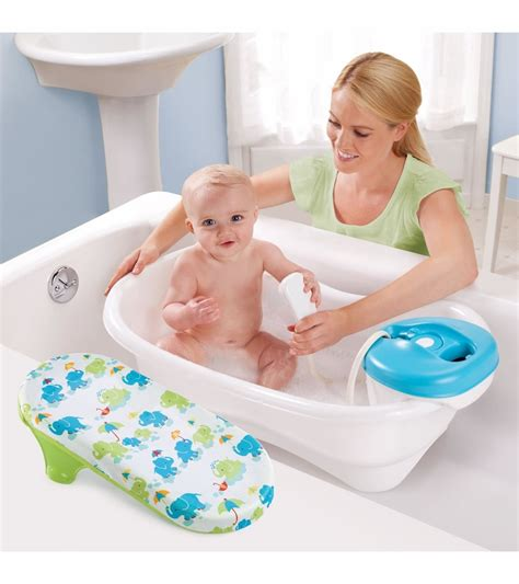 summer newborn to toddler bath center and shower summer infant newborn to toddler bath center shower neutral