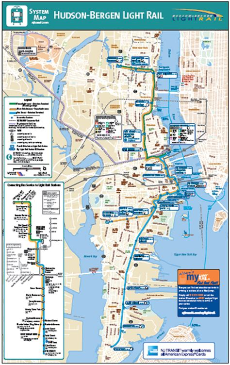 Hudson Bergen Light Rail Map by Hudson Bergen Light Rail Map Images