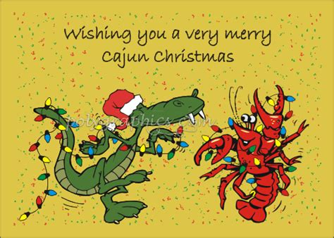 cajun christmas clip art cajun christmas card details