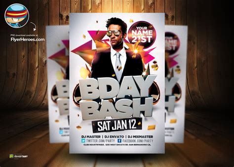 birthday flyer templates free 18 birthday flyer psd images birthday flyer templates birthday flyer