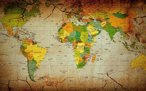 world map with country name hd world map wallpapers wallpaper cave
