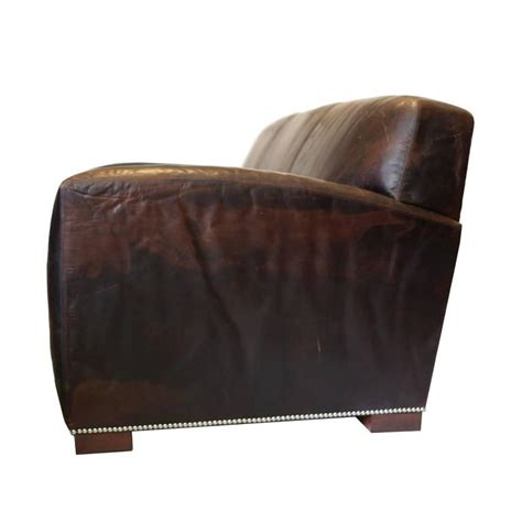 ralph leather sofa sale quot graham quot leather sofa by ralph for sale at 1stdibs