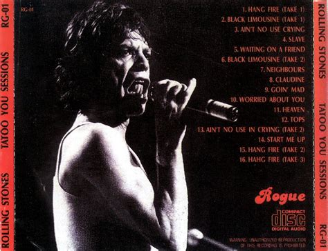 rolling stones tattoo you mp3 reliquary rolling stones tattoo you sessions rogue rg