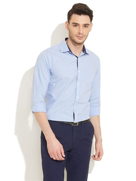 light blue slacks mens men s guide to perfect pant shirt combination looksgud in