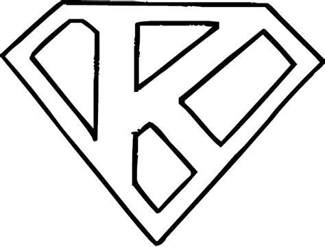 k color letter k coloring page