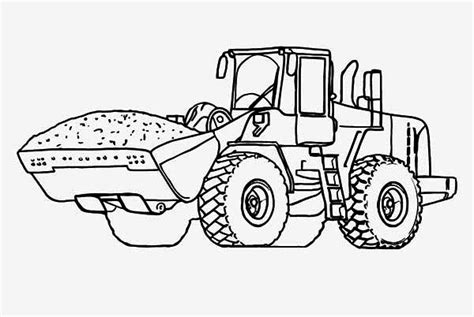 tractor coloring page pdf 14 tractor coloring page print color craft
