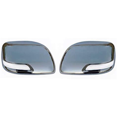 chrome land chrome mirror covers toyota land cruiser kdj 150