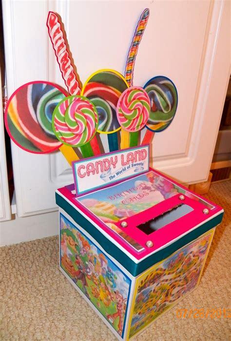 Birthday Card Box Birthday Card Box Candyland Pinterest