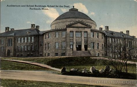 Faribault Post Office by Auditorium And School Buildings School For The Deaf